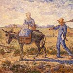 Vincent Van Gogh- Morning Going Out to Work- The Hermitage Museum, St. Petersburg