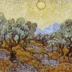 Vincent Van Gogh- Olive Trees with Yellow Sun and Sky (Nov. 1889)- The Minneapolis Institute of Art ( William Hood Dunwoody Fund)