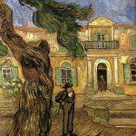 Vincent Van Gogh- Pine Trees with Figure in the Garden of the Hôpital Saint-Paul (Nov. 1889)- Musée d'Orsay, Paris