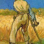 Vincent Van Gogh- The Reaper (after Millet)(Sept. 1889)- Private Collection (UK)