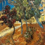 Vincent Van Gogh- Trees in the Garden of the Hôpital Saint-Paul (October 1889)- Private Collection (U.S.)