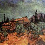 Vincent Van Gogh- Wooden Sheds (December 1889)- Private Collection