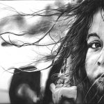 Девочка. Графитные карандаши, А3. 2015г.- Сергей Мельников