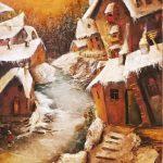 3-е место - Долгая зима,холст, масло, 60х80, 2019г-Анжелика Ягодина