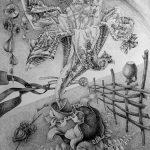 3-е место - Енергетична сутність купальської квітки, гелева ампулка, папір, 85х60, 2016р. - Кучмій Антон