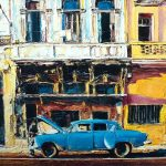 1.0 Кубинское путешествие, холст, масло, 60х40, 2018, Резчиков Артем