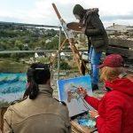 Пленэр - пишем и рисуем Крепость Каменца