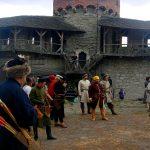 Состязания лучников в крепости