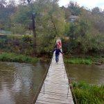 Экстрим-подвесной мостик