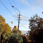 Фестиваль воздушных шаров, вечер-сказочный город