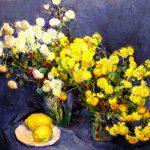 3-е место - Натюрморт с лимонами. холст, масло, 65х80, 2008г.-Валентина Винникова.