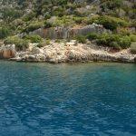 г.Кекова в скалах и под водой