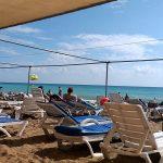 Пляж отеля, шезлонги,матрасы, навес,еда-всё включено