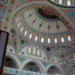 Великолепная орнаментальная роспись.Мечеть.Турция