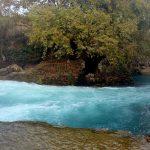 Река Манавгал с необыкновенным цветом воды