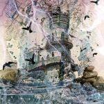 Загадочный замок, комп.графика, коллаж, Алиса Адамайтис