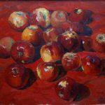 ПЗС - Червоні яблука_полотно олія_60х80_2015_Павленко Олександр