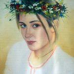 ПЗС - Алена, холст,масло, 40х50-Людмила Лебедева