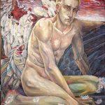 Падший ангел, полотно, олія, 65х85, 2005р.-Камінська Майя
