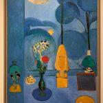 Henri Matisse The Blue Window, 1913 Photo made by ©️Ganna Prokhorova. MoMA, NY 2019