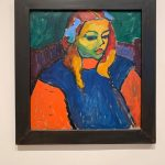 Alexej von Jawlensky - Girl with the green face, 1910 Photo made by ©️Ganna Prokhorova, Art Institute of Chicago, Chicago, 2019
