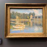 Клод Моне - «Мост в Аржантее», 1874г. Музей Орсе