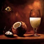 Кокосовый натюрморт, холст, масло, 50х60, 2007 г.