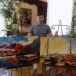 На выставке_Дмитрий Михайловский
