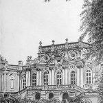 Мариинский дворец, Начало 20-го века, бумага, карандаш, 20х30, 2016 г. Олег М. Караваев
