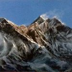 Дыхание гор,холст,масло,40х50,2008 г..Караваев О...