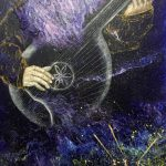 Born_by_Music_Cycle_We_Are_canvas_ author's_technique_80х60_cm_2021_Elena_Smal
