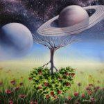 Вечность жизни, холст, масло, 70х70 Анна Гридасова