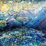Восход в Черногории (пленэрная работа), холст, масло,50х70, 2019 г.-Марго Пугаченко