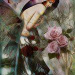 Самосозерцающая красота, комп.графика, Алиса Адамайтис