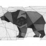 Без назви, Петро Грицюк, 21х30, папір, олівець (авторська манера - графічний кракелюр), 2021