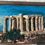 Греция, пластилин,глина скульптурная, 47х34, 2015г.-Злата Золотаренко