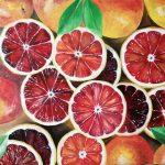 Сицилийские апельсины, масло, холст, 50х70, Богдана Чиликина