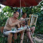 Мини-пленэр со знаменитым художником Сергеем Григорьевым