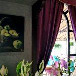 Картины художников Портала в интерьере ресторна Now