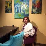 Татьяна Золотухина на 48-й Выставке Портала