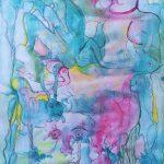 Жизнь в гармонии, 30х40, акварель, бумага - Марго Пугаченко