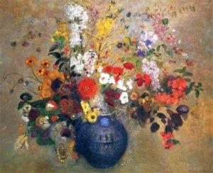 Одилон Редон_Flowers_1909 г.