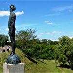 Пейзажная, Киев - Скульптуры пейзажной аллеи