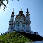 Парящая в небе - Андреевская церковь