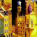 Три города, холст, масло, 30х40, 2003 г. - Олег М. Караваев