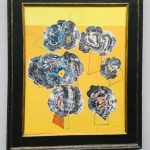 50 оттенков серого и жёлтого, заказать картину в этой цветовой гамме5