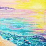 Дверь в рай, масло, холст, 50х70 - Олисеенко Ирина
