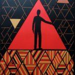 Лабіринт - Витинанка, дизайнерський картон, 60х84, Антон Прітченко