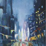Нью-Йорк, холст, масло, 35х50 - Елена Гасаненко