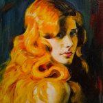 Отражение, холст, масло, 20х30, 2015г. Долгорукова Ирина